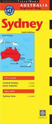 Australia Regional Map Sydney By Periplus Editors (EDT)